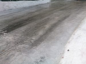 Iced-road